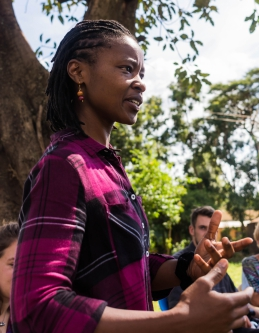 Gathoni: an hones story is the one without own experience, Kenya 2017