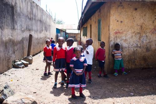 Schoolkids ruling streetlife  (Kenya, 2017)