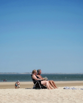 Lazy sunny beach days (Belgium, 2018)